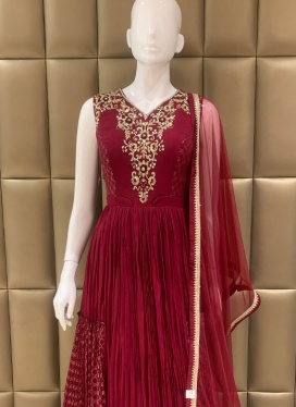 Alluring Ceremonial Anarkali Suit