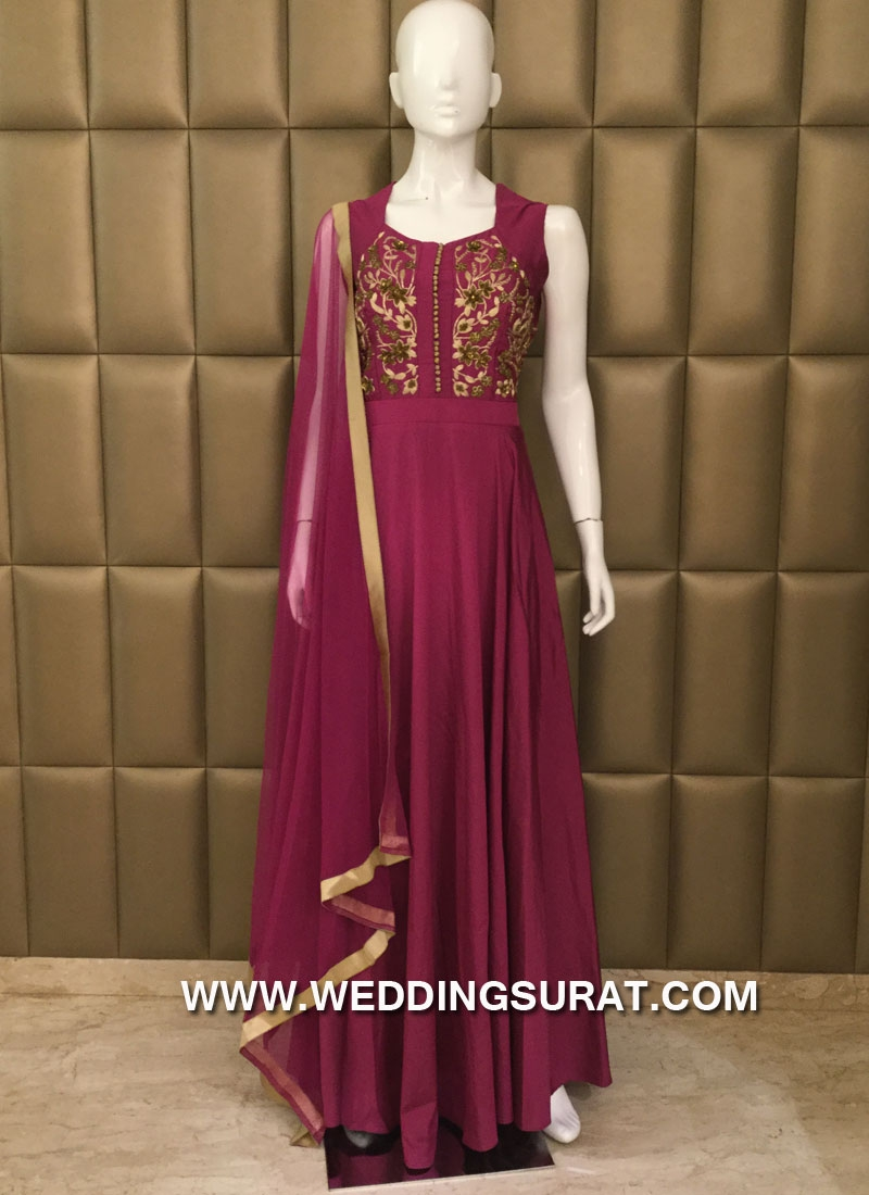 Attractive  Churidar Suit For Ceremonial