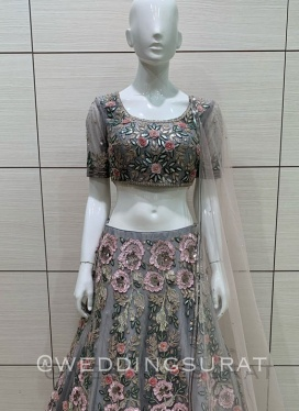 Attractive Diamond Work Lehenga Choli
