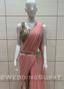 Cut Dana Different Style Saree