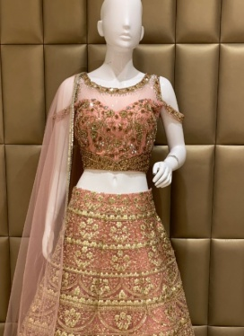 Delightful Soft Net Lehenga Choli