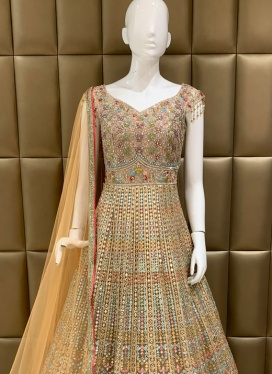 Modish Cut Dana Ceremonial Designer Gown