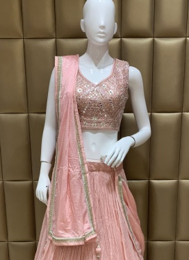 Motivating Cut Dana Ceremonial Lehenga Choli
