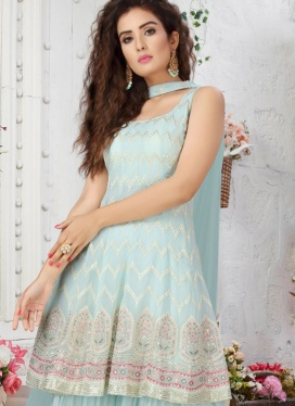 Sizzling Kasab work Palazzo Suit