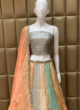 Sparkling Ceremonial Gota Patti Work Lehenga Choli